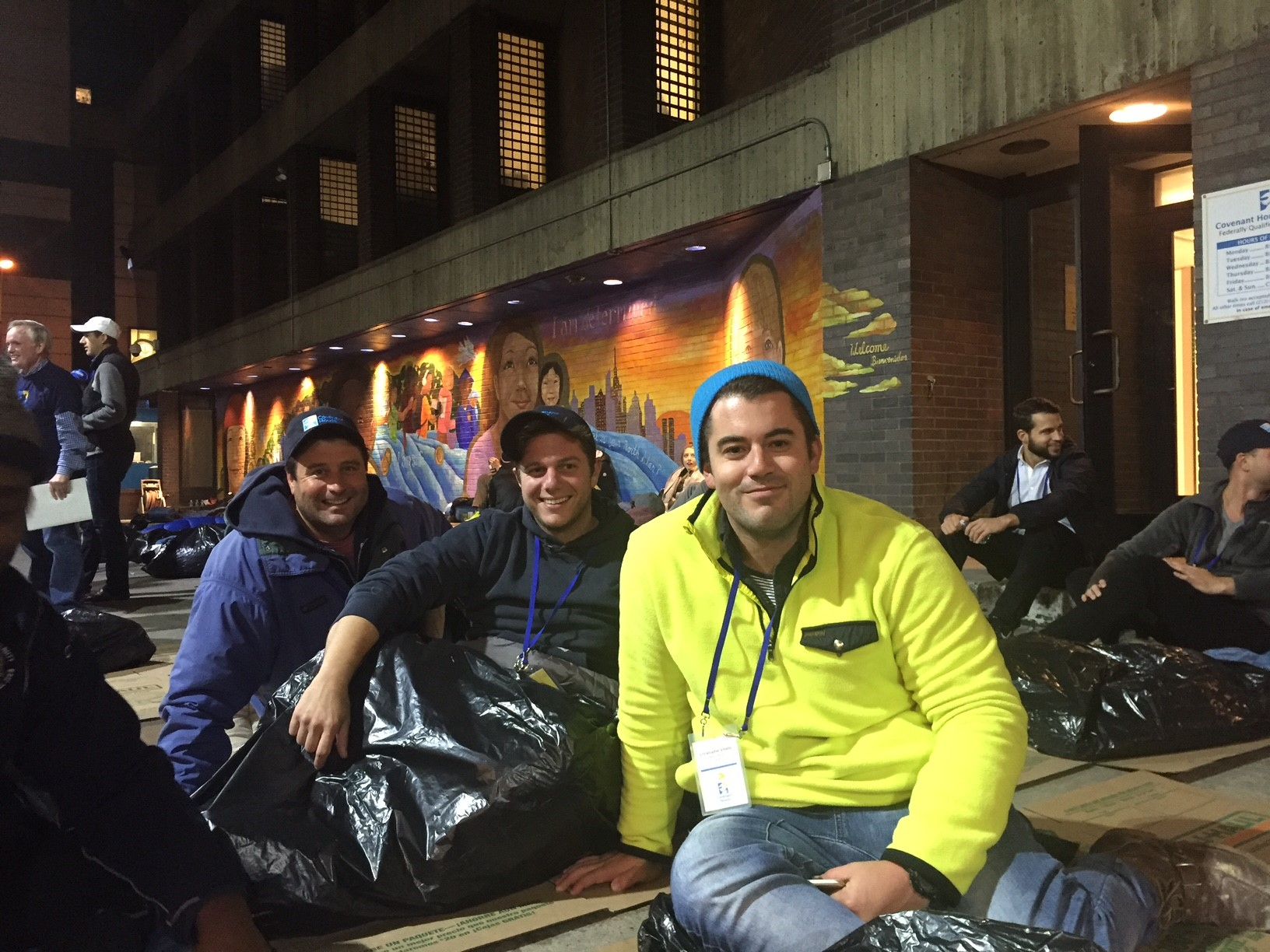 FNTA 2016 Covenant House Real Estate Sleep Out